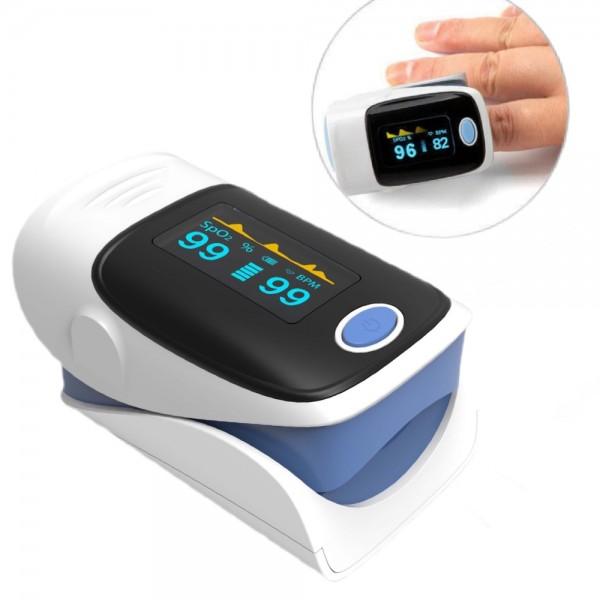 Pulsoximeter für den Finger Pulsmessung und Sauerstoffsättigung OLED Display