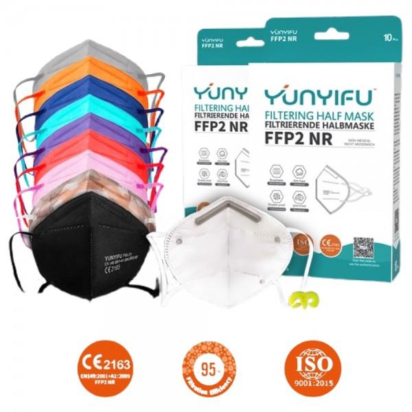 FFP2 NR Filtrierende Halbmaske (10 Stück)